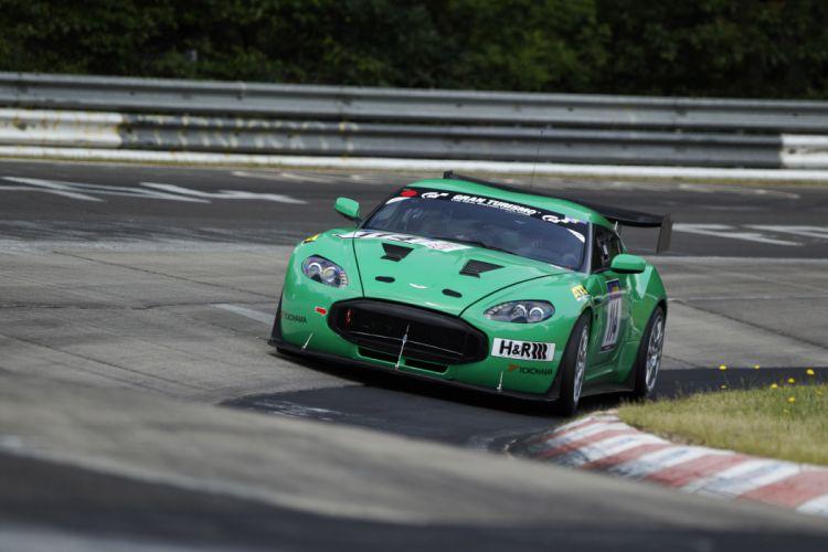 Aston Martin V12 Zagato race racing supercar supercars wallpaper