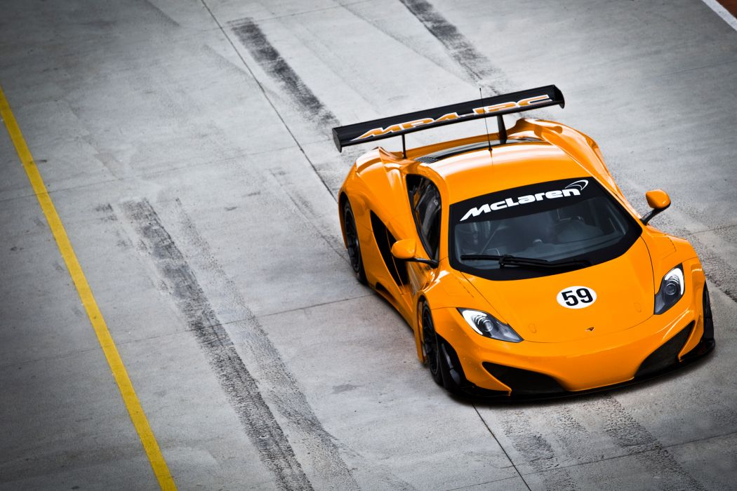 McLaren MP4-12C GT3 racing race supercar supercars     d wallpaper