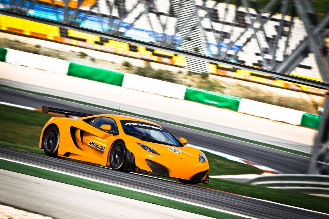 McLaren MP4-12C GT3 racing race supercar supercars    x wallpaper