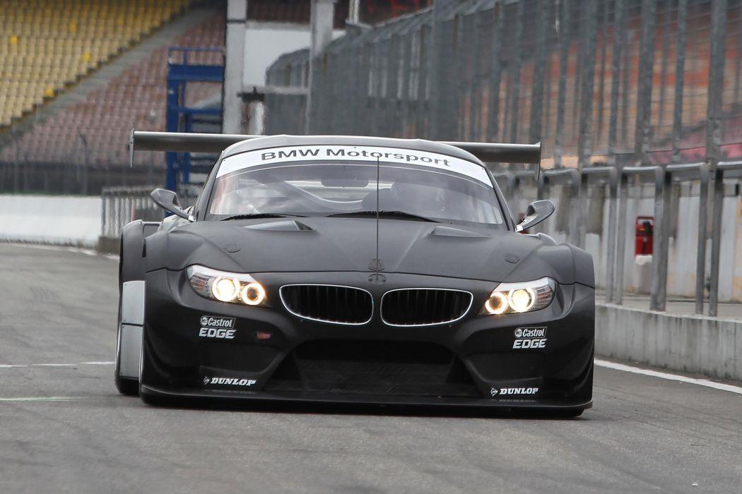2011 BMW Z-4 GT3 race racing     e wallpaper