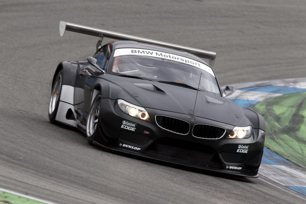 2011 BMW Z-4 GT3 race racing wallpaper