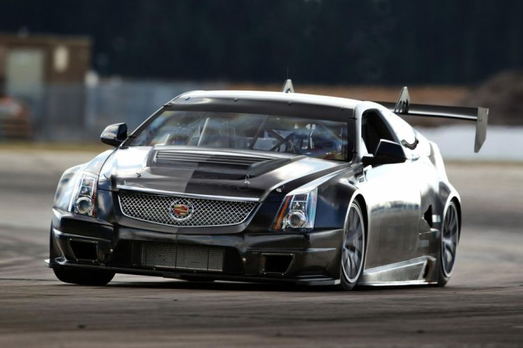 2011 Cadillac CTS-V Racing Coupe race d wallpaper