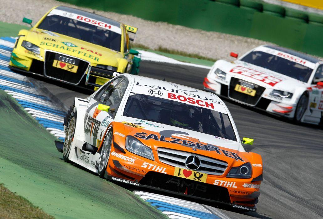 2011 DTM Mercedes Benz Bank AMG C-Class race racing      h wallpaper