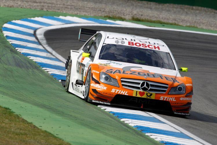 2011 DTM Mercedes Benz Bank AMG C-Class race racing a wallpaper
