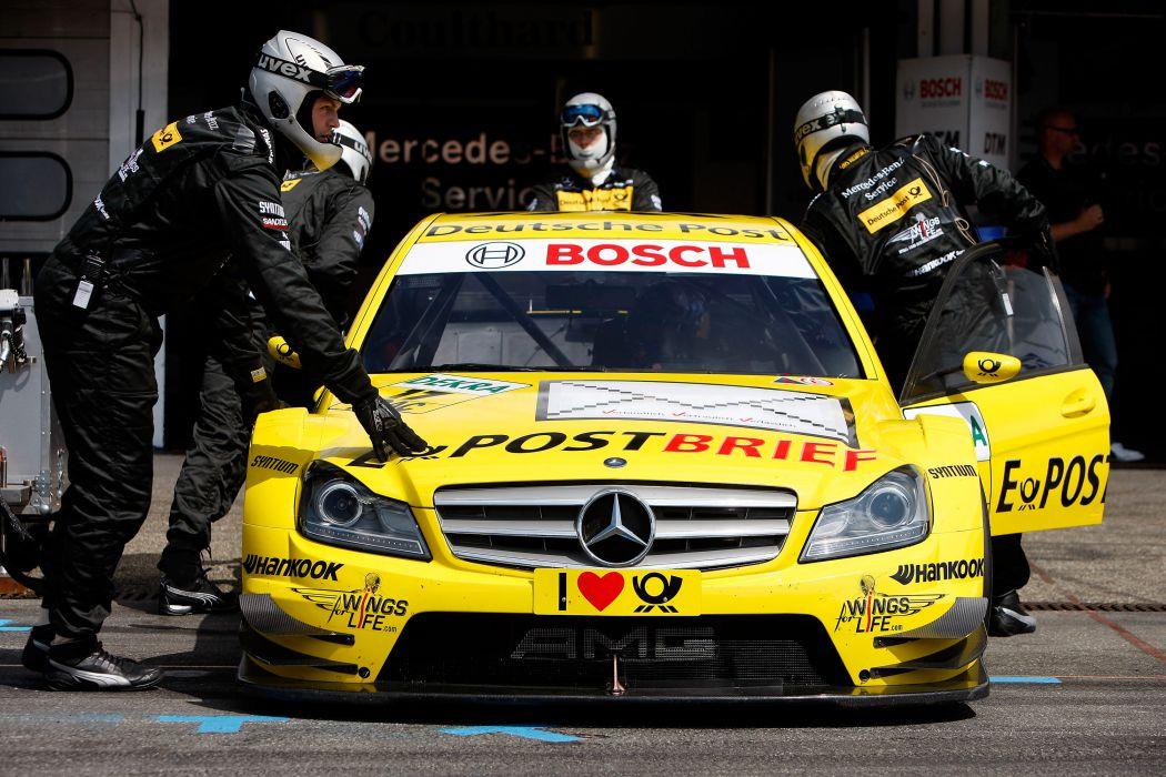 2011 DTM Mercedes Benz Bank AMG C-Class race racing      x wallpaper
