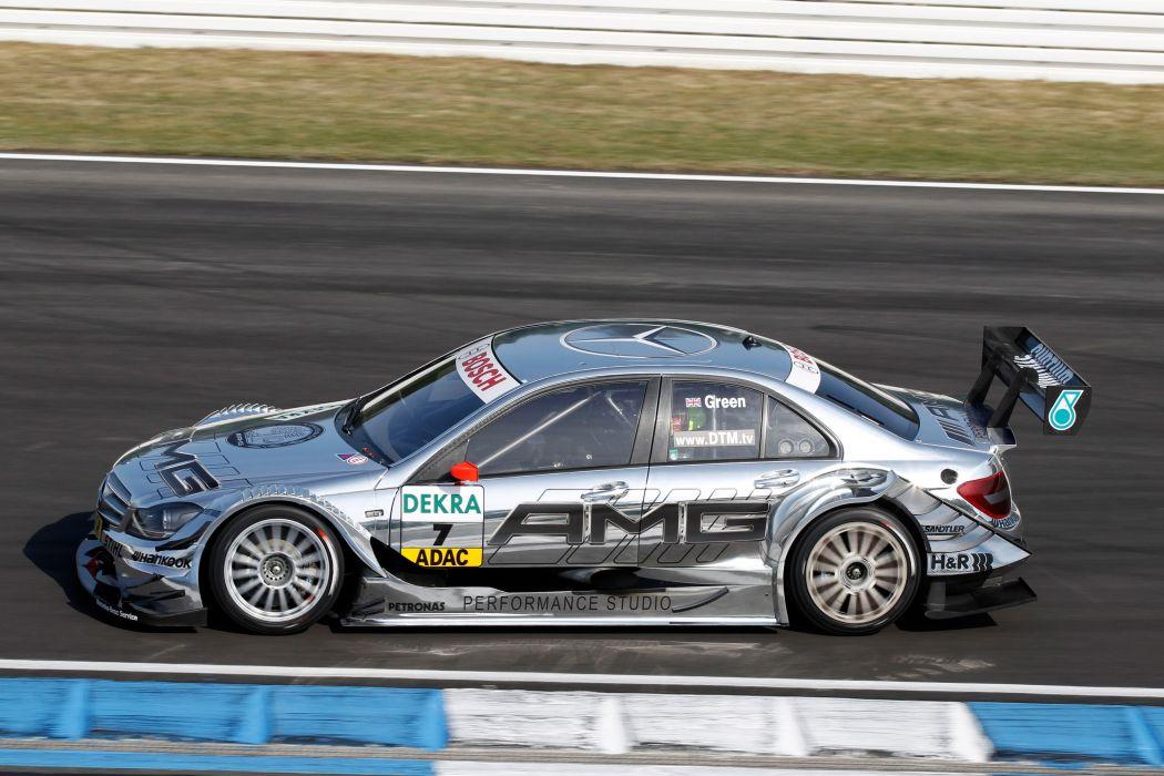 2011 DTM Mercedes Benz Bank AMG C-Class race racing     f wallpaper