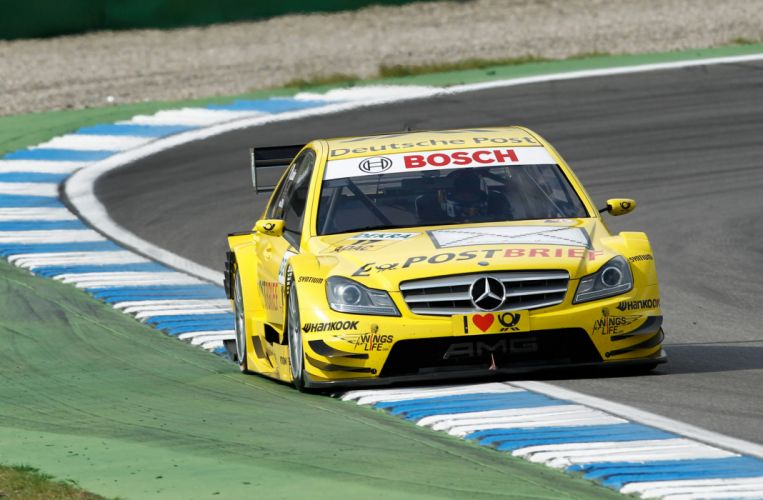 2011 DTM Mercedes Benz Bank AMG C-Class race racing q wallpaper
