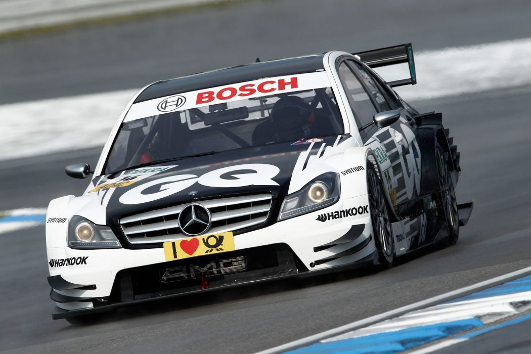 2011 DTM Mercedes Benz Bank AMG C-Class race racing   q wallpaper