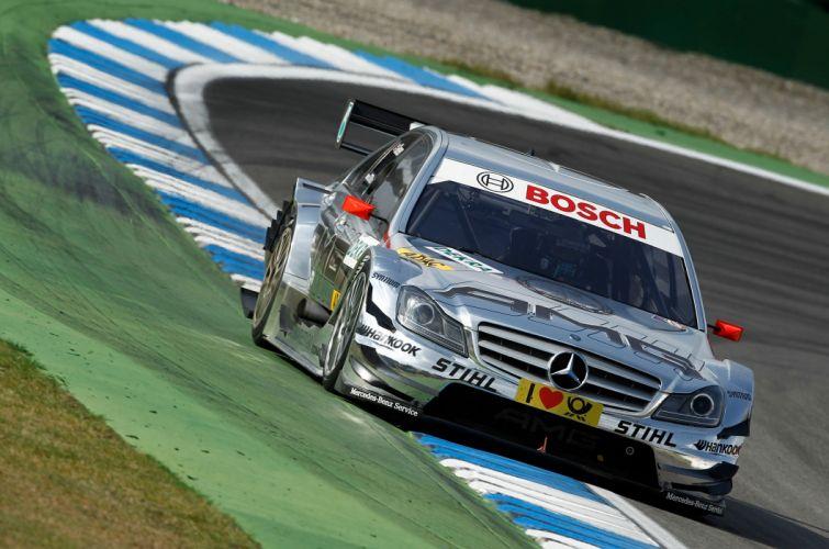 2011 DTM Mercedes Benz Bank AMG C-Class race racing v wallpaper