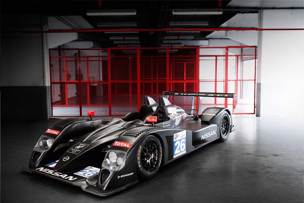 2011 Nissan LMP2-class prototype race racing    a wallpaper