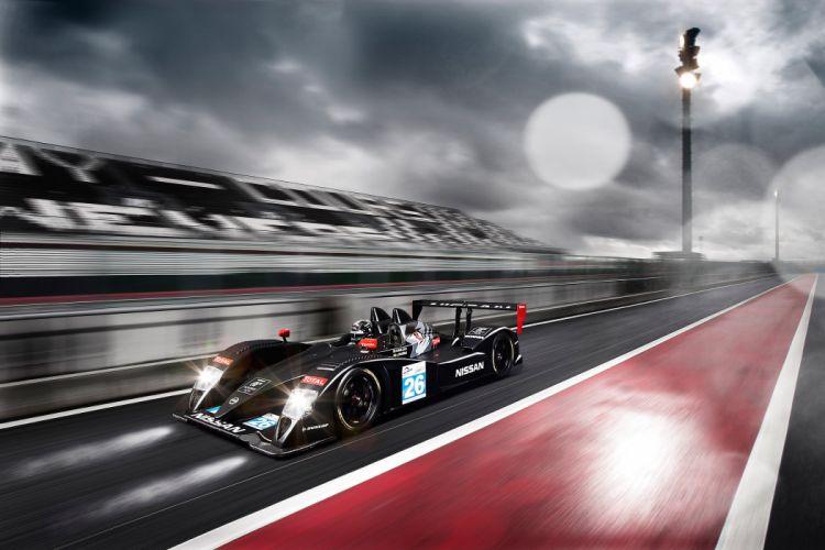 2011 Nissan LMP2-class prototype race racing wallpaper