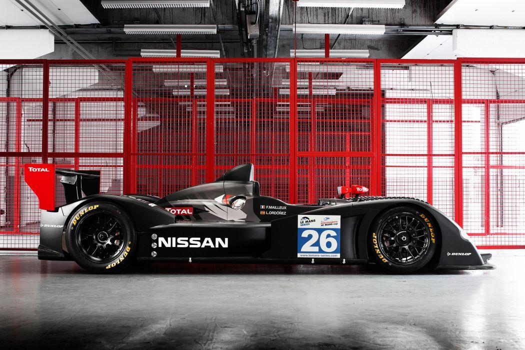 2011 Nissan LMP2-class prototype race racing    s wallpaper