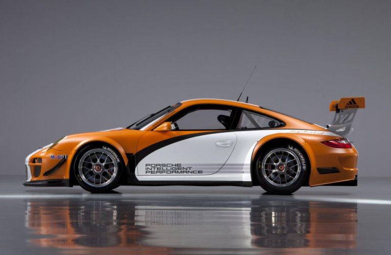 2011 Porsche 911 GT3-R Hybrid Version 2-0 race racing d wallpaper