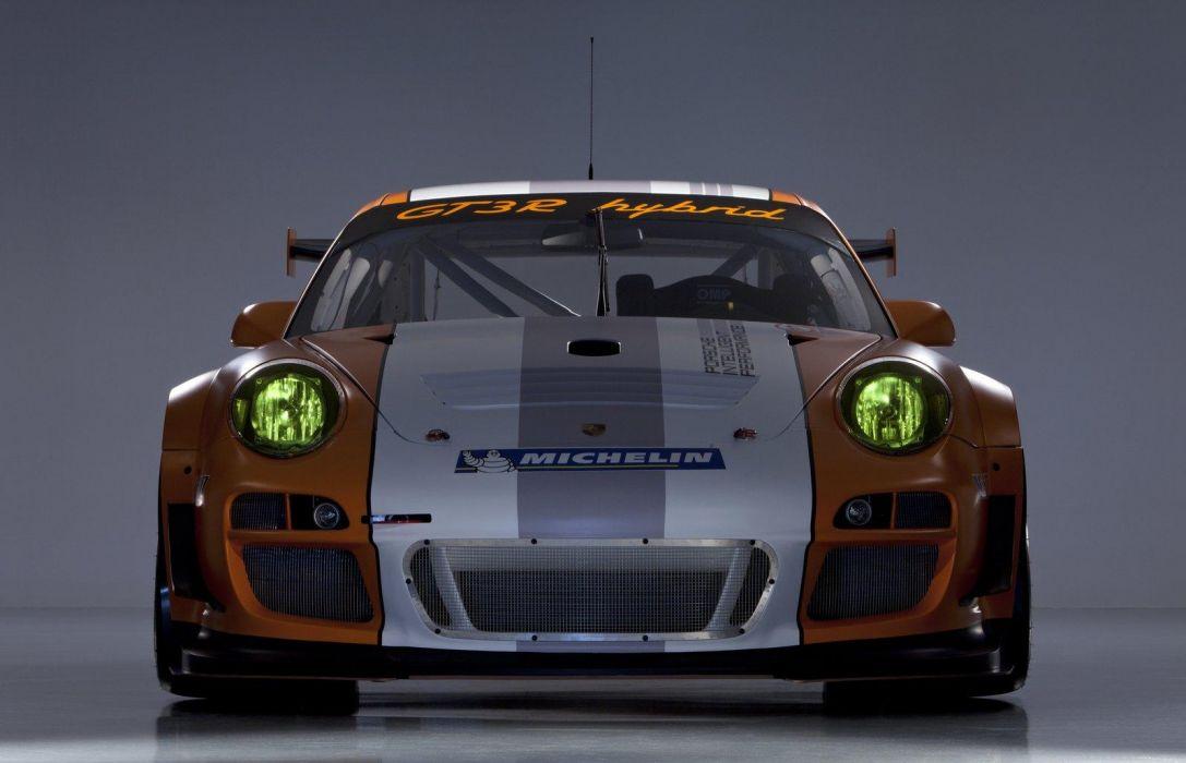 2011 Porsche 911 GT3-R Hybrid Version 2-0 race racing    z wallpaper