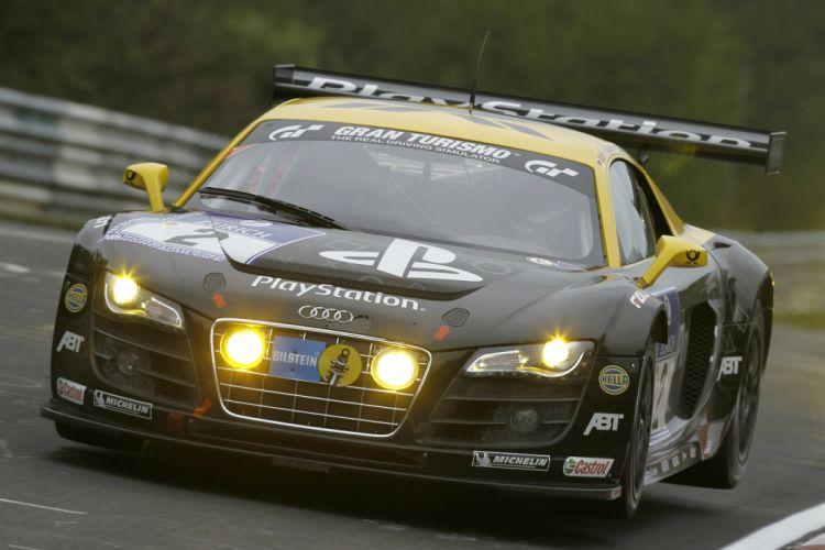Audi R-8 LMS race racing e wallpaper