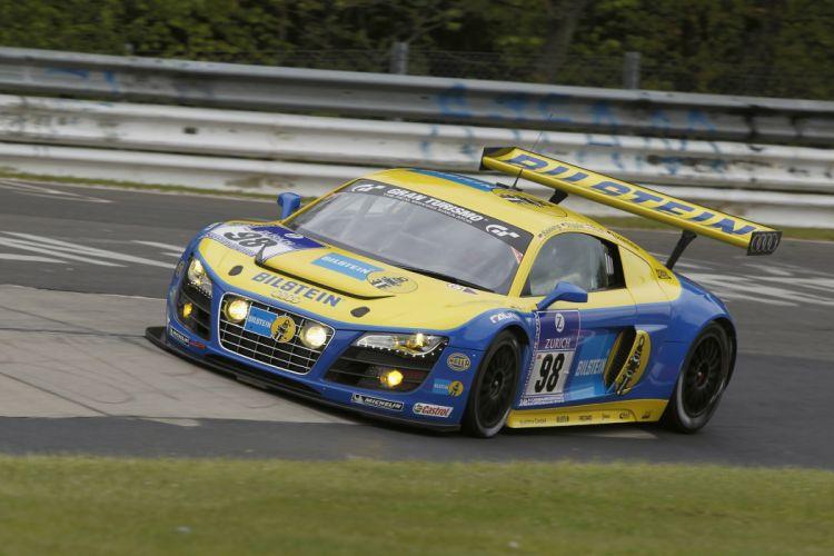 Audi R-8 LMS race racing q wallpaper