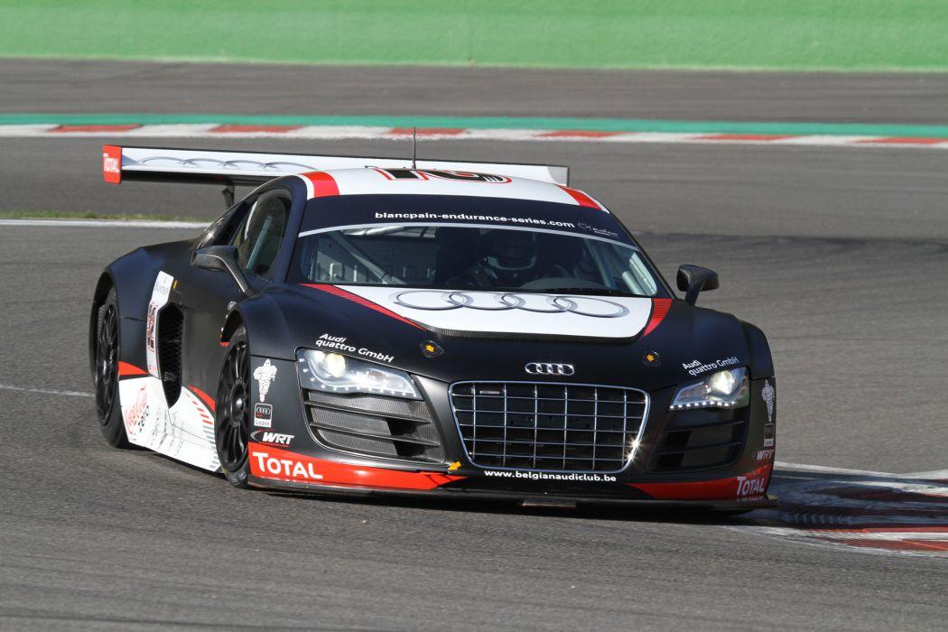 Audi R-8 LMS race racing wallpaper