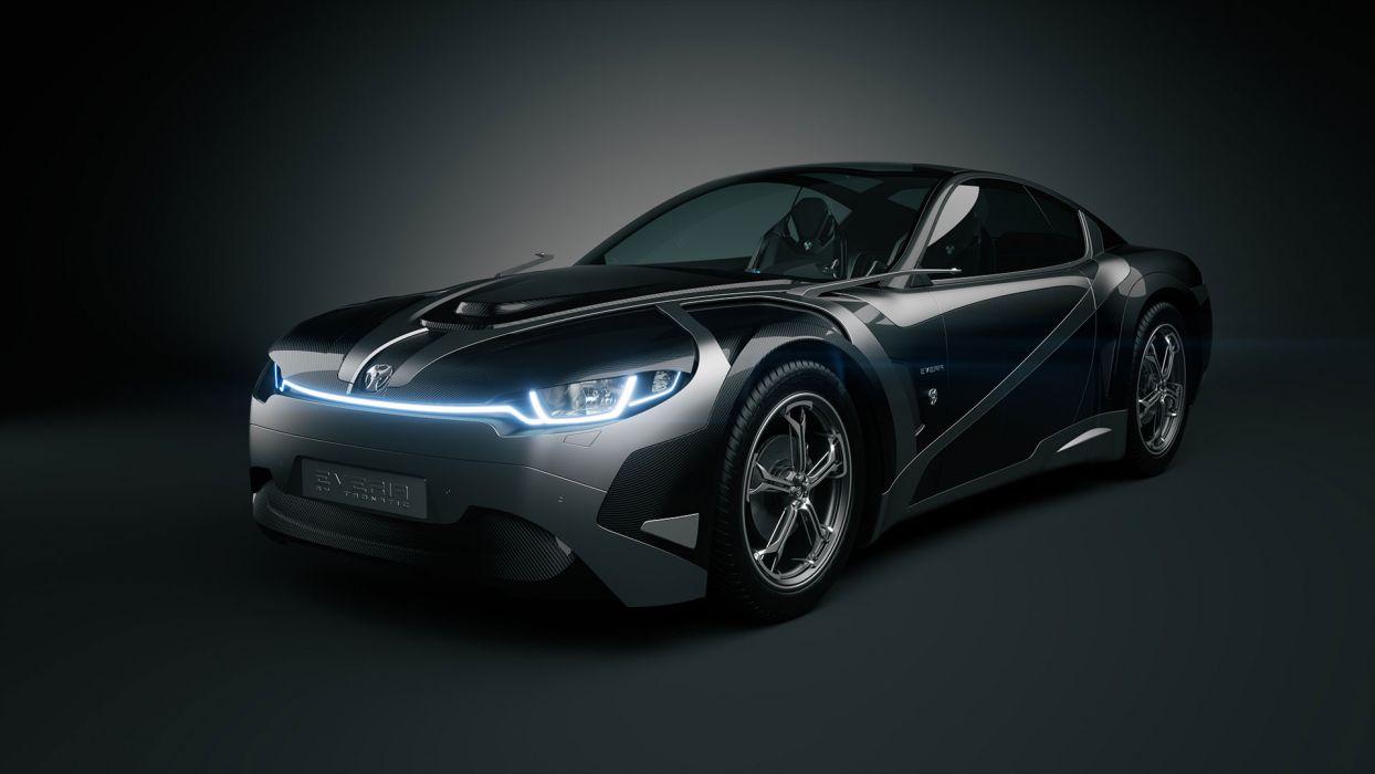 2012Tronatic Everia Concept electric supercar supercars a wallpaper