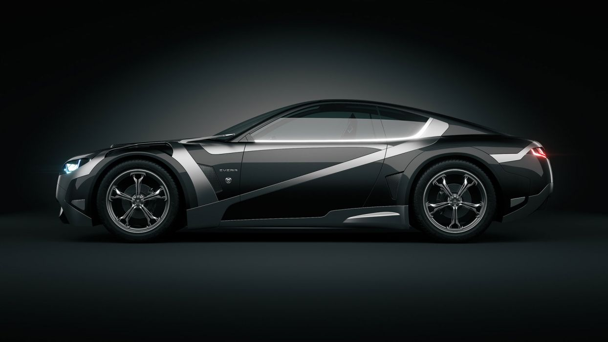 2012Tronatic Everia Concept electric supercar supercars e wallpaper