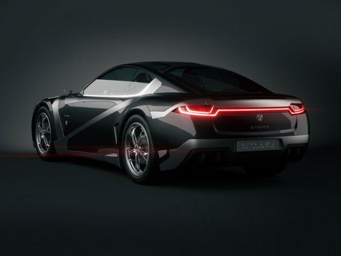 2012Tronatic Everia Concept electric supercar supercars f wallpaper