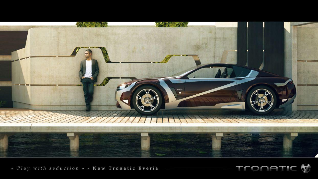 2012Tronatic Everia Concept electric supercar supercars s wallpaper