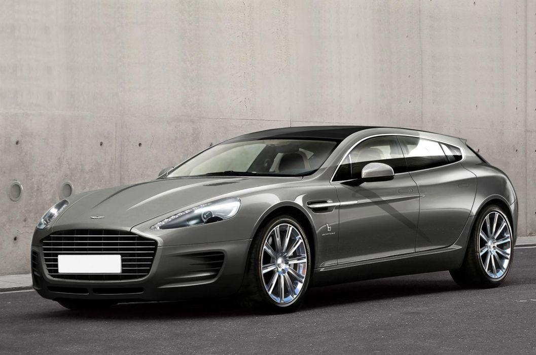 2013 Bertone Aston Martin Rapide Shooting Brake Concept  d wallpaper
