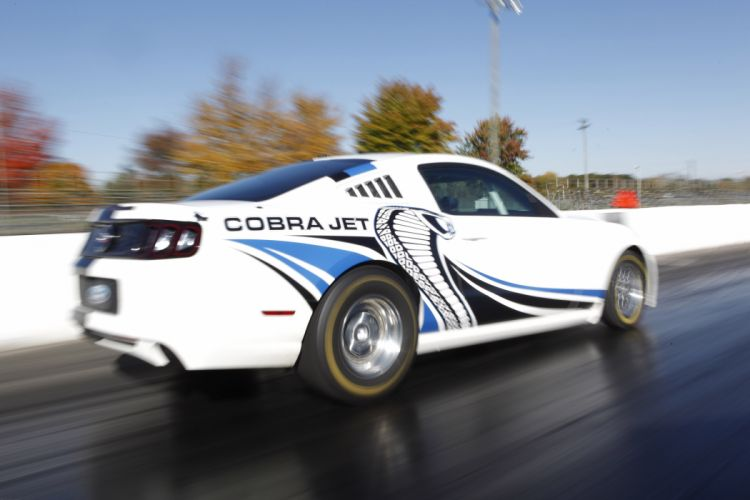 2013 Ford Mustang Cobra Jet Twin-Turbo Concept race racing hot rod rods muscle z wallpaper