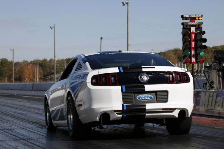 2013 Ford Mustang Cobra Jet Twin-Turbo Concept race racing hot rod rods muscle c wallpaper