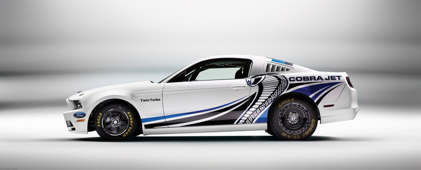 2013 Ford Mustang Cobra Jet Twin-Turbo Concept race racing hot rod rods muscle a wallpaper