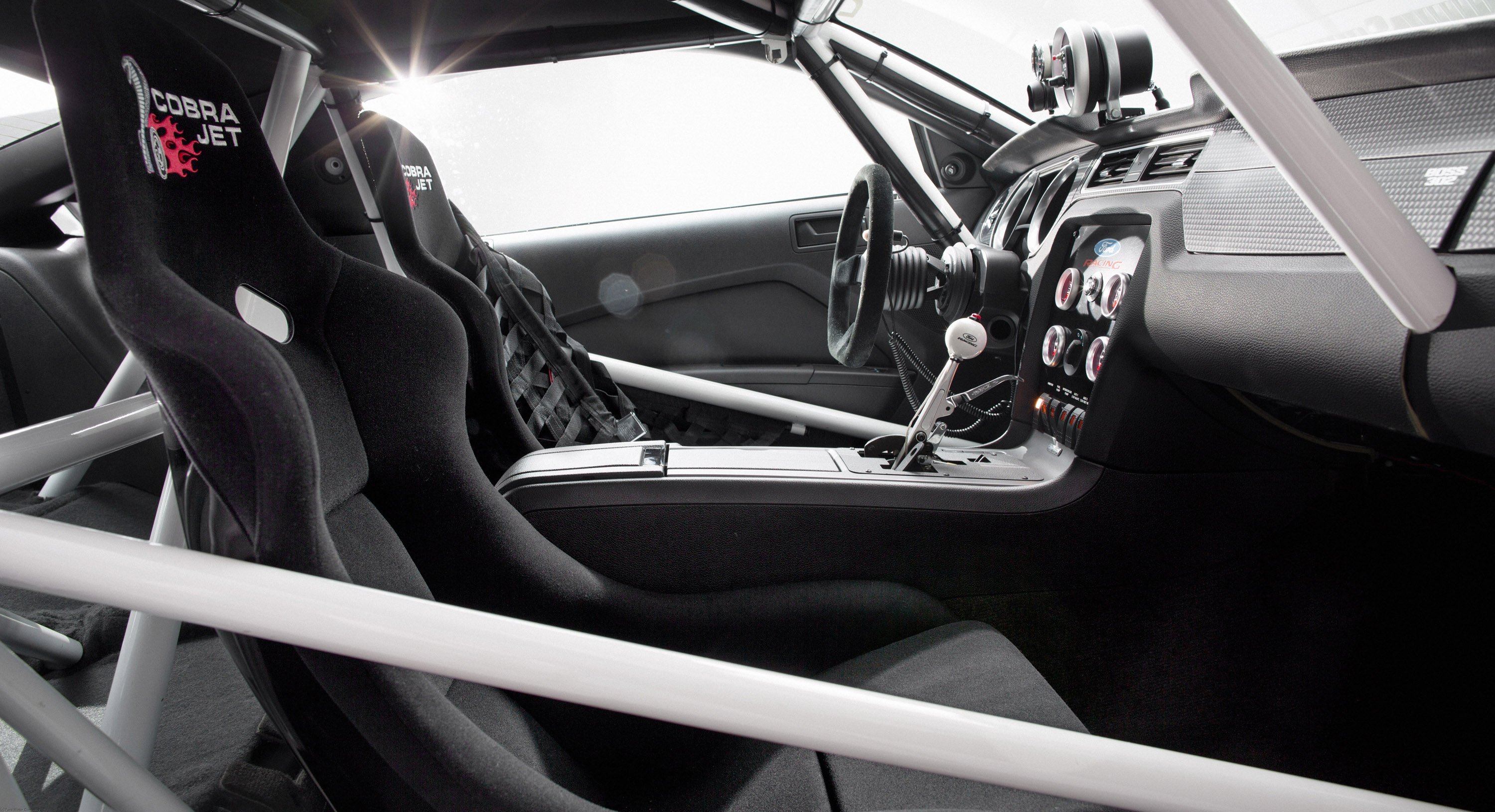 2013 ford mustang cobra jet twin turbo concept race racing hot rod rods muscle interior d. Black Bedroom Furniture Sets. Home Design Ideas