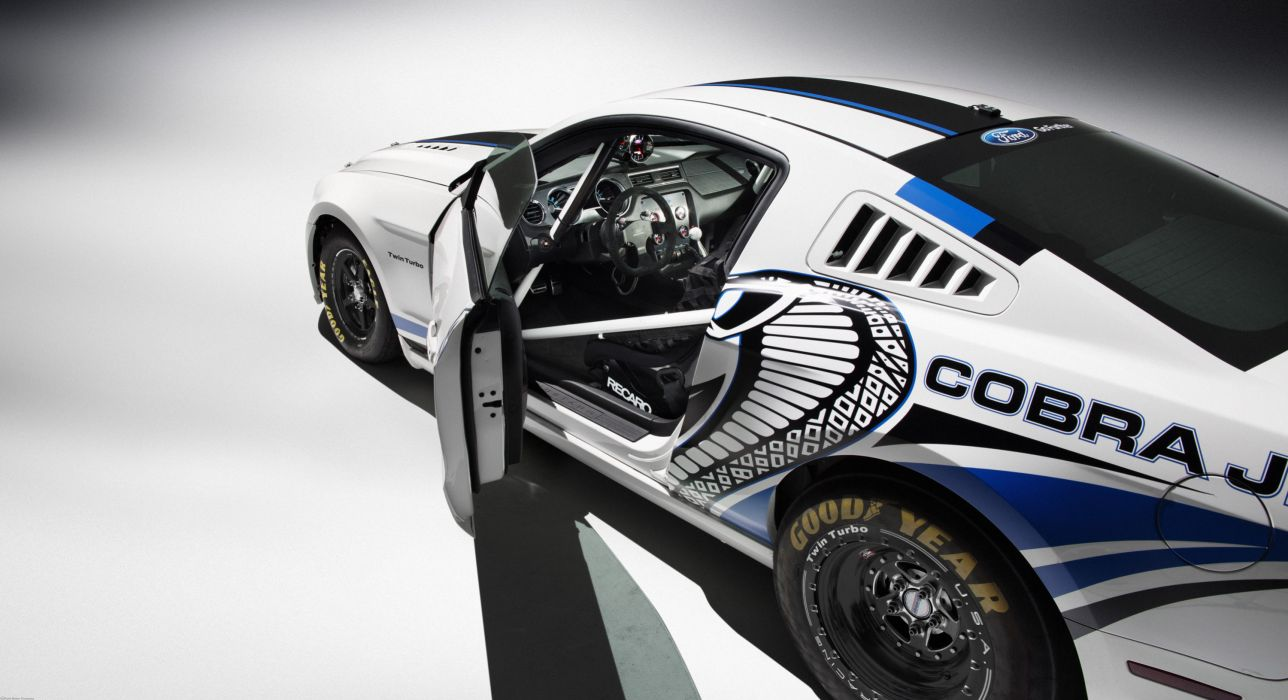 2013 Ford Mustang Cobra Jet Twin-Turbo Concept race racing hot rod rods muscle interior wallpaper