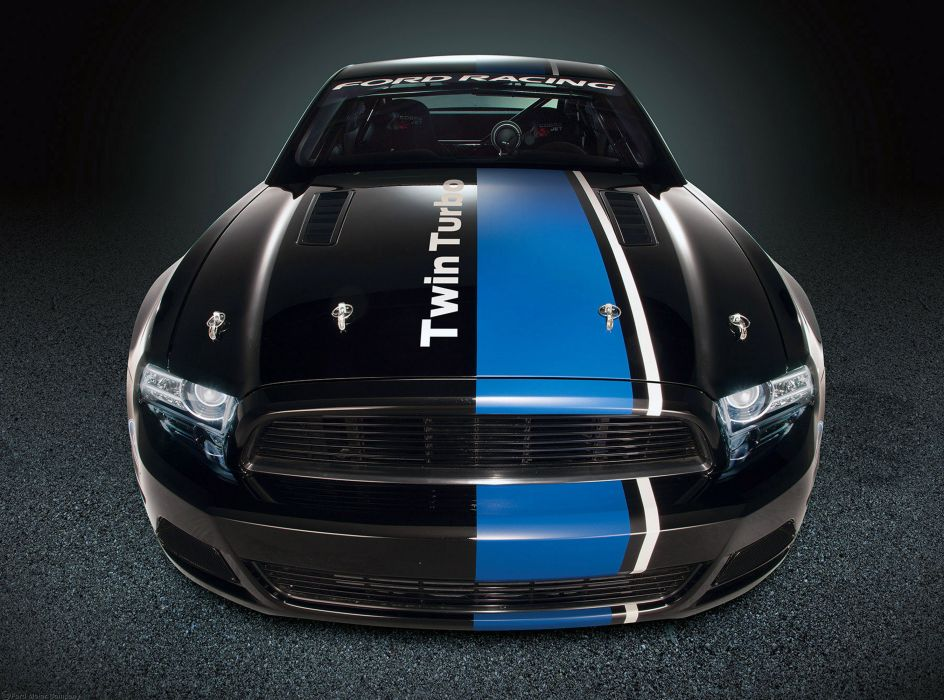 2013 Ford Mustang Cobra Jet Twin-Turbo Concept race racing hot rod rods muscle q wallpaper