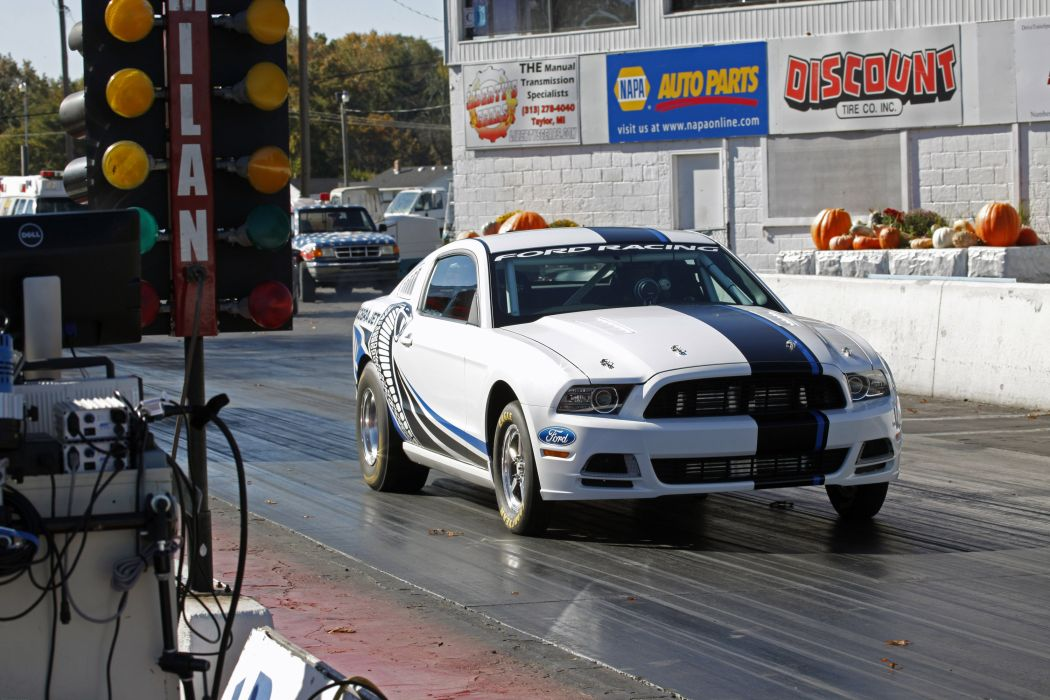 2013 Ford Mustang Cobra Jet Twin-Turbo Concept race racing hot rod rods muscle r wallpaper