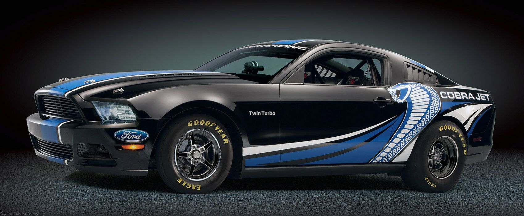 2013 Ford Mustang Cobra Jet Twin-Turbo Concept race racing hot rod rods muscle u wallpaper