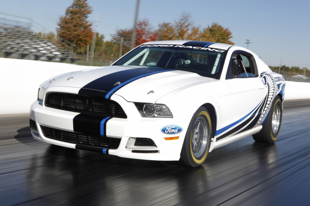 2013 Ford Mustang Cobra Jet Twin-Turbo Concept race racing hot rod rods muscle t wallpaper