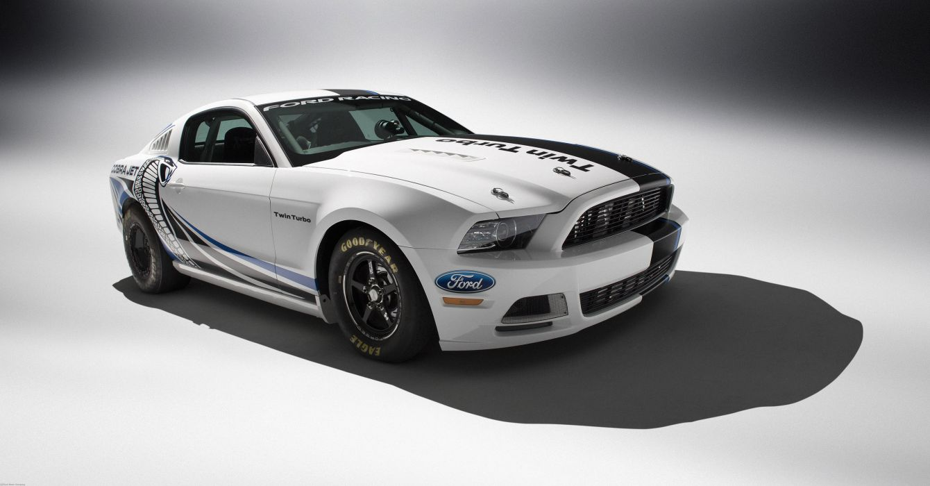 2013 Ford Mustang Cobra Jet Twin-Turbo Concept race racing hot rod rods muscle y wallpaper
