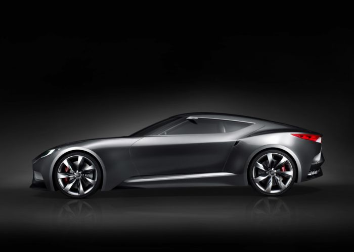 2013 Hyundai Luxury Sports Coupe HND-9 Concept r wallpaper