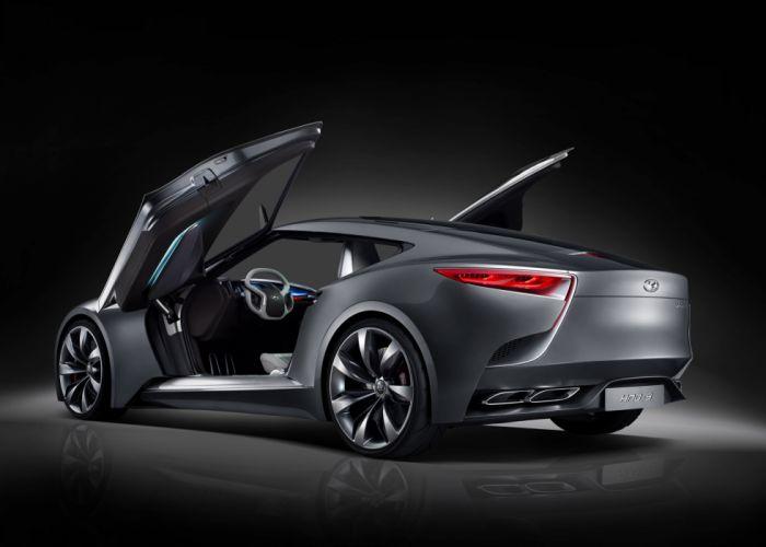 2013 Hyundai Luxury Sports Coupe HND-9 Concept e wallpaper