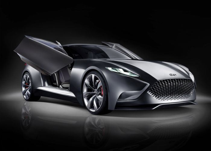 2013 Hyundai Luxury Sports Coupe HND-9 Concept q wallpaper