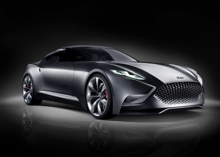 2013 Hyundai Luxury Sports Coupe HND-9 Concept wallpaper