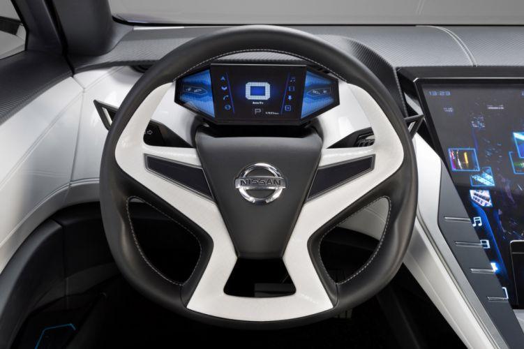 2013 Nissan Friend-ME Concept interior dash steering wallpaper