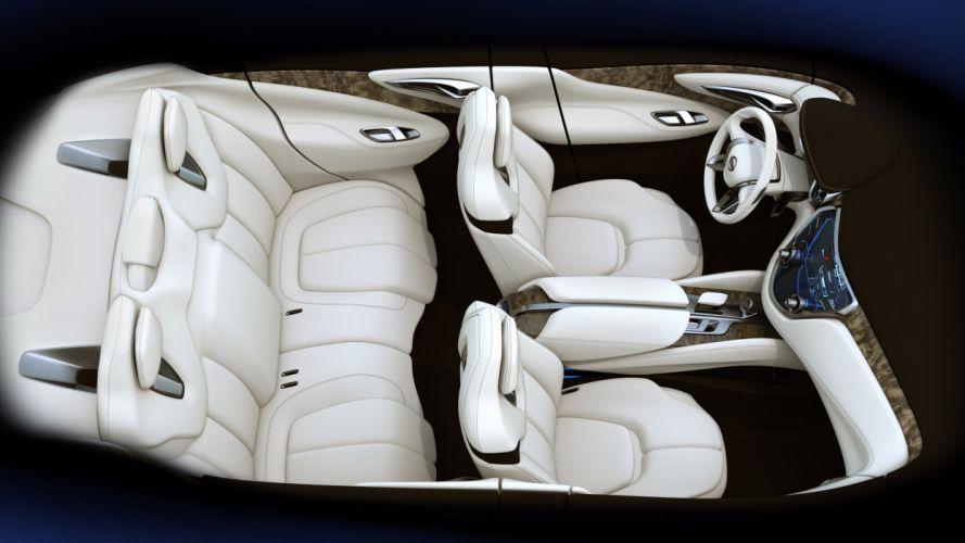 2013 Nissan Resonance Concept suv interior wallpaper