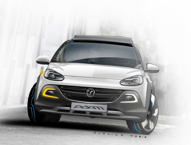 2013 Vauxhall Adam Rocks Concept wallpaper
