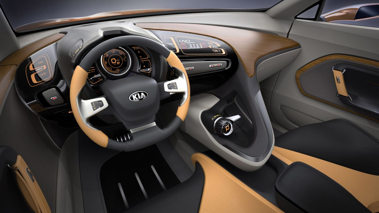 2013Kia Cross-GT Concept suv interior wallpaper