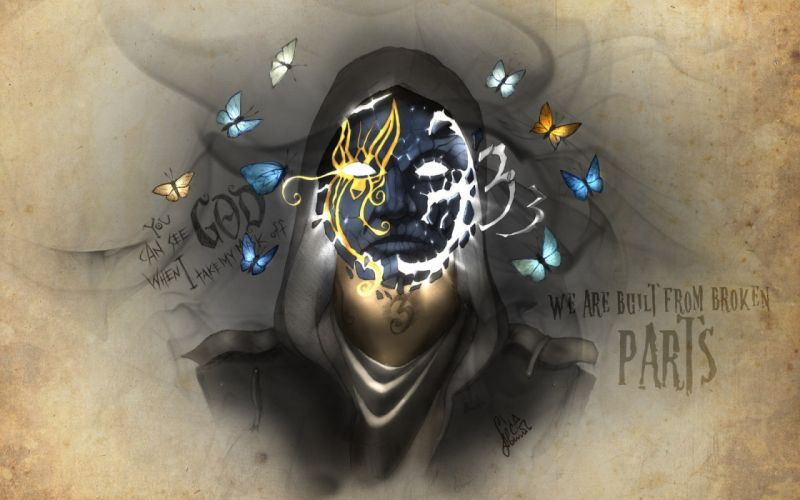 Hollywood Undead Notes from the Underground Johnny 3 Tears artwork dark wallpaper