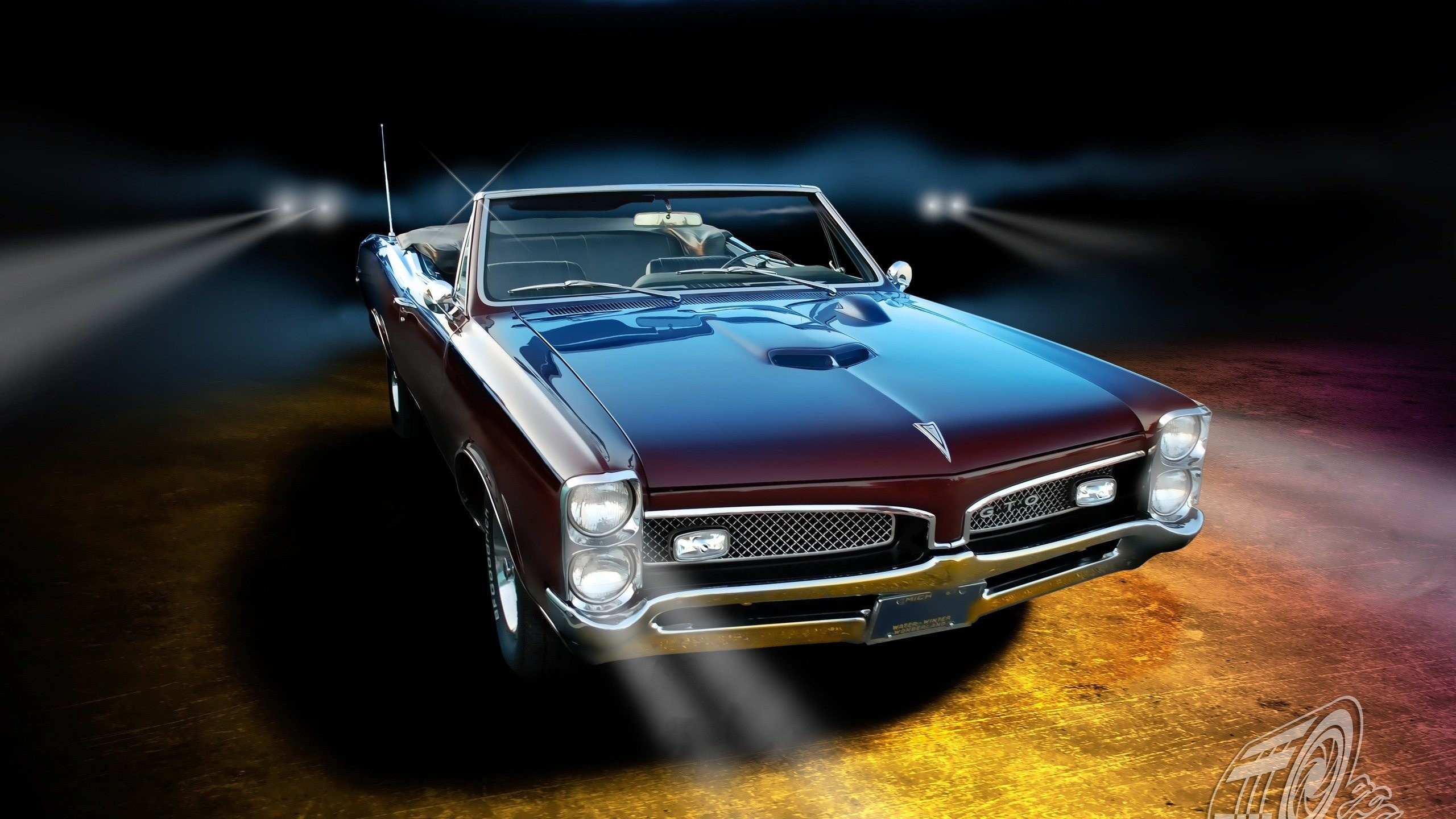 Pontiac Gto Classic Muscle Cars Wallpaper