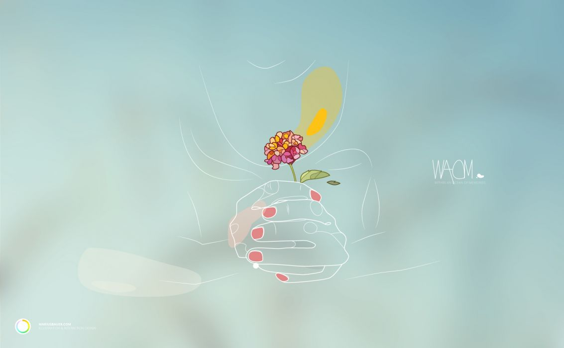 Flowers Abstract mood vector emotion love wallpaper