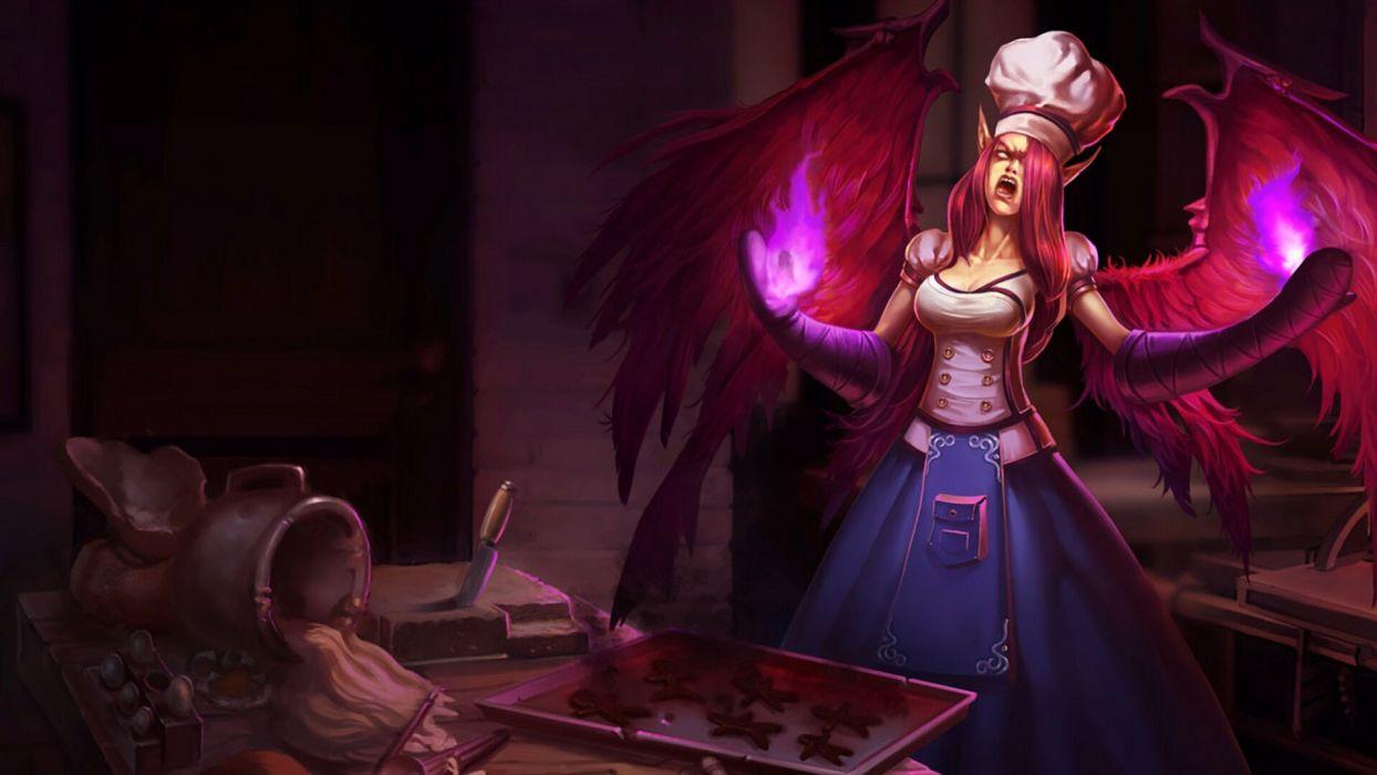 League Of Legends magic fantasy wallpaper