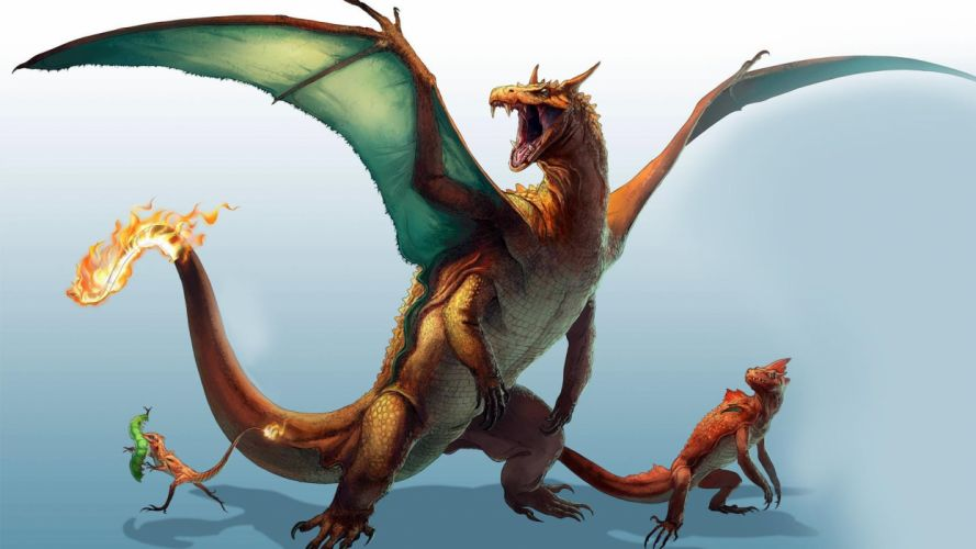 Pokemon dragon dragons fantasy wallpaper