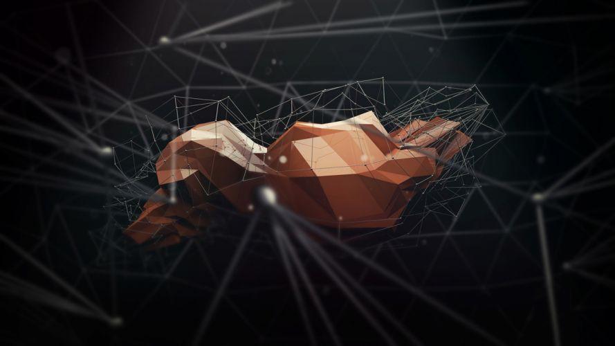 Polygon Art Abstract a wallpaper